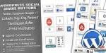 Social wordpress share buttons