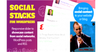 Social wordpress slider responsive stacks