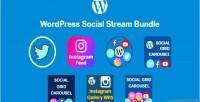 Social wordpress stream bundle