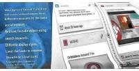 Social wordpress timeline