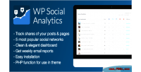 Social wp analytics