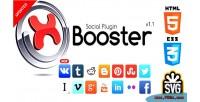 Social xbooster plugin