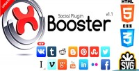 Social xbooster plugin