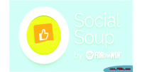 Soup social twitter feeds status facebook
