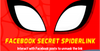 Spiderlink facebook like & to comment link the view