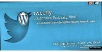 Tweetly stylish tweet to plugin wordpress unlock