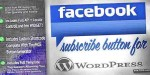 Subscribe facebook for wordpress