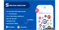 Super social share ultimate social sharing wordpress plugin customizer live with