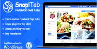 Tab snap custom tabs page facebook