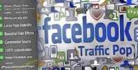 Traffic facebook wordpress for pop