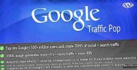 Traffic google wordpress for pop