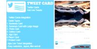 Tweet way card