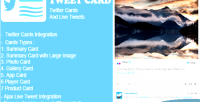 Tweet way card