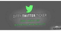 Twitter ditty ticker