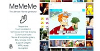 Ultimate mememe meme plugin wp generator