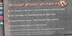 Video social wordpress for locker
