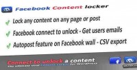 Viral facebook content wordpress for locker