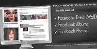 Walleria facebook wordpress plugin