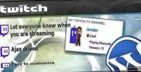 Widget twitch.tv