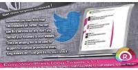 Wordpress easy long tweets