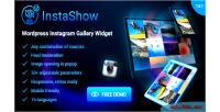 Wordpress instashow widget gallery instagram