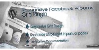 Wordpress responsive facebook plugin grid albums