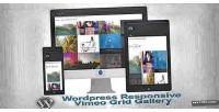 Wordpress responsive vimeo gallery video grid