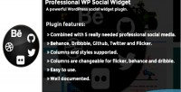 Wp professional plugin widget social