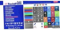 Wp socialfans responsive plugin counter social