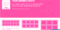 Wpshotsdojo portofolio wordpress plugin shots dribbble from