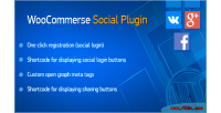 Social woocommerce plugin