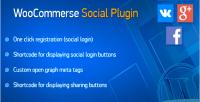 Social woocommerce plugin