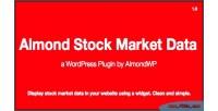 Stock almond market data
