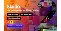 Template slaido pack slider for plugin wordpress revolution