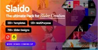 Template slaido pack slider for plugin wordpress revolution