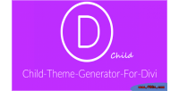 Theme child divi for generator