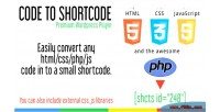 To code shortcode