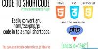 To code shortcode