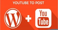 To youtube plugin wordpress post