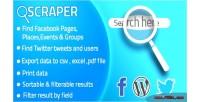 Twitter scraper for business plugin wp twitter