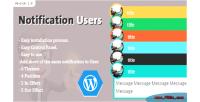 Users notification plugins wordpress