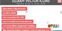 000 10 wordpress icons vector