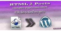 2 html plugin wordpress posts