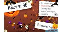 3d halloween for wordpress