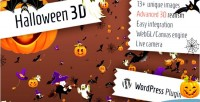 3d halloween for wordpress