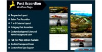 Accordion post for wordpress