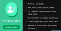 Activity user log wordpress for pro