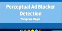 Ad perceptual blocker plugin wordpress detection