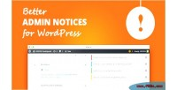 Admin better wordpress for notices