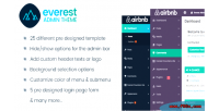 Admin everest theme customizer backend wordpress